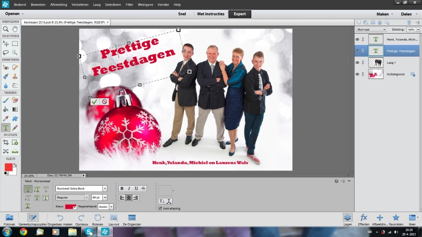 Printscreen Photoshop Elements gevorderden
