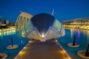 Fotoreis Valencia Stad van de Kunst en Wetenschappen in het blauwe kwartiertje.