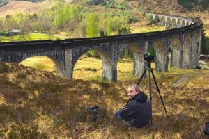 Fotoreis Schotland Ron bij Glennfinnan Viaduct